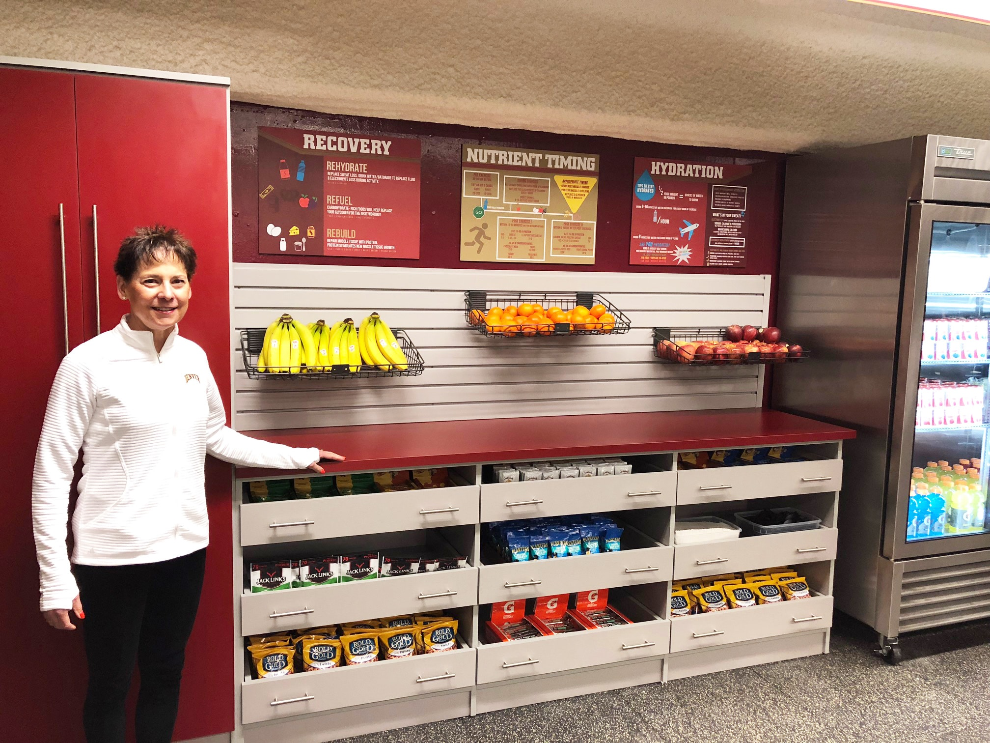 Denver's Closet Factory Owners Donate Custom Cabinetry to University of Denver's Division of Athletics