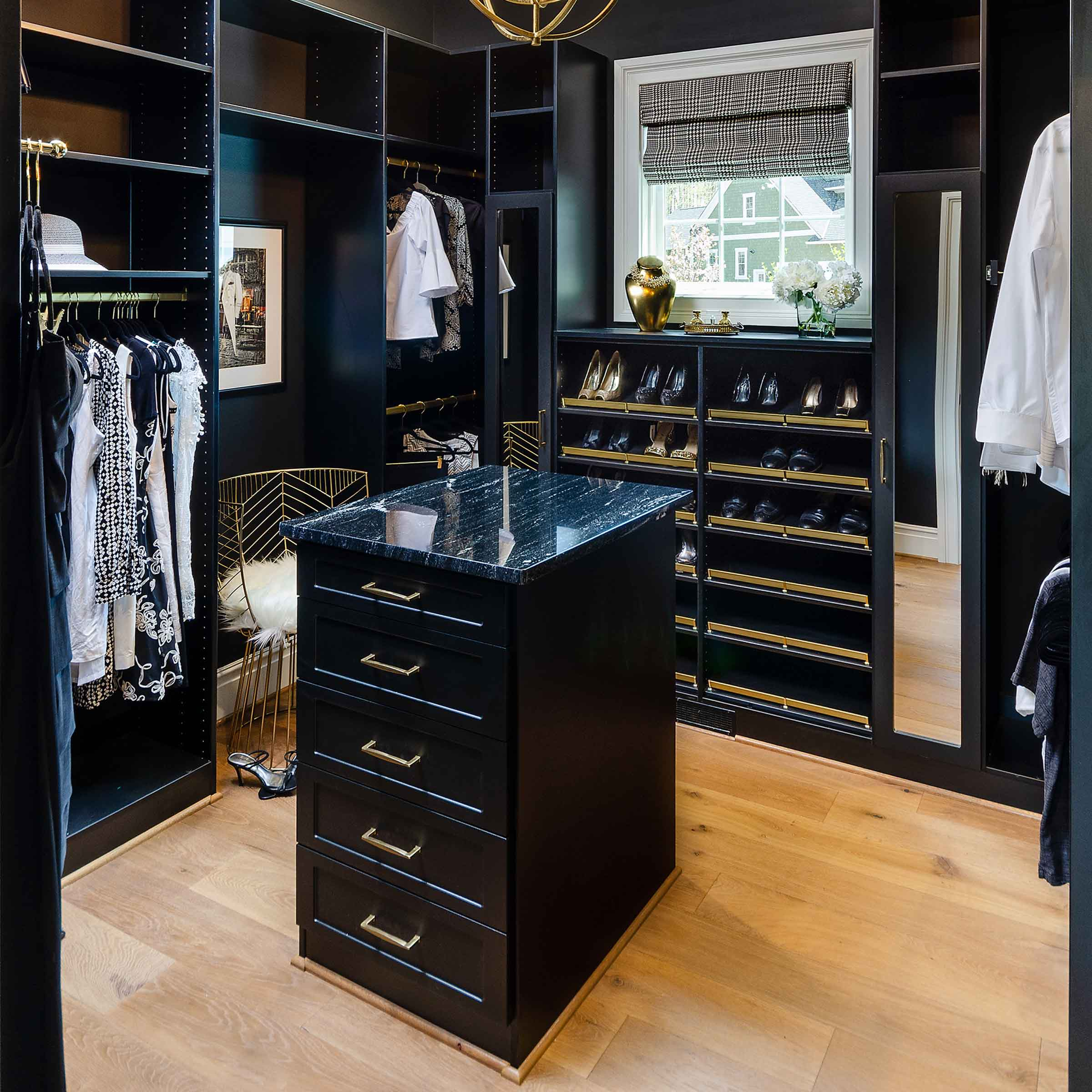 Closet Factory's Pantry and Closet Designs Featured In Three Showcase Homes