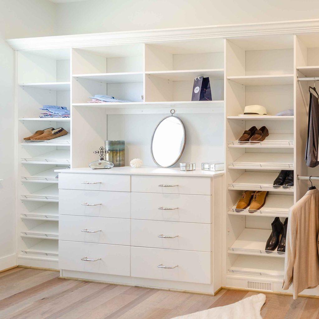 built-in wardrobe wall unit