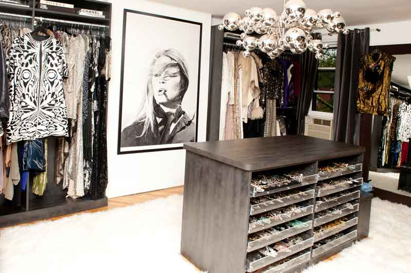 Custom dressing rooms with personality