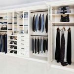 Elegant custom reach-in closet