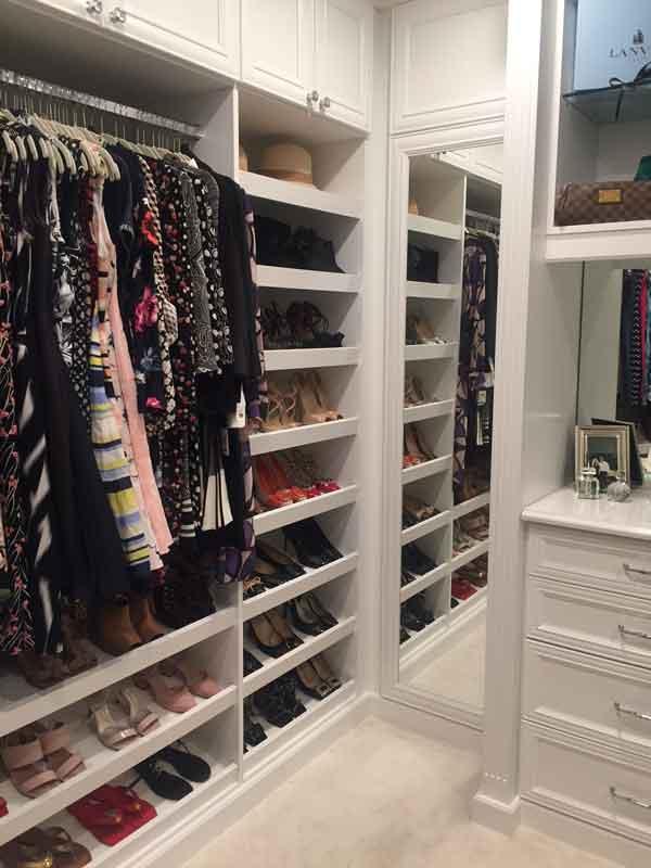 walk-in closet custom design