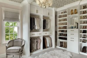Lovely Updated Custom Closet Design Incorporates Traditional Elements With  Modern Ones. Large Crown Shows Off The Deliberate Depth Changes Bringing  Out The ...