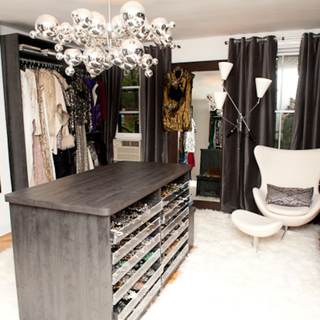 room converted to closet