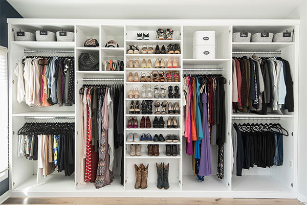 Four Simple Strategies for Custom Closet Organization