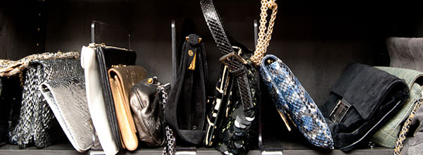close up handbags that pair with shoes