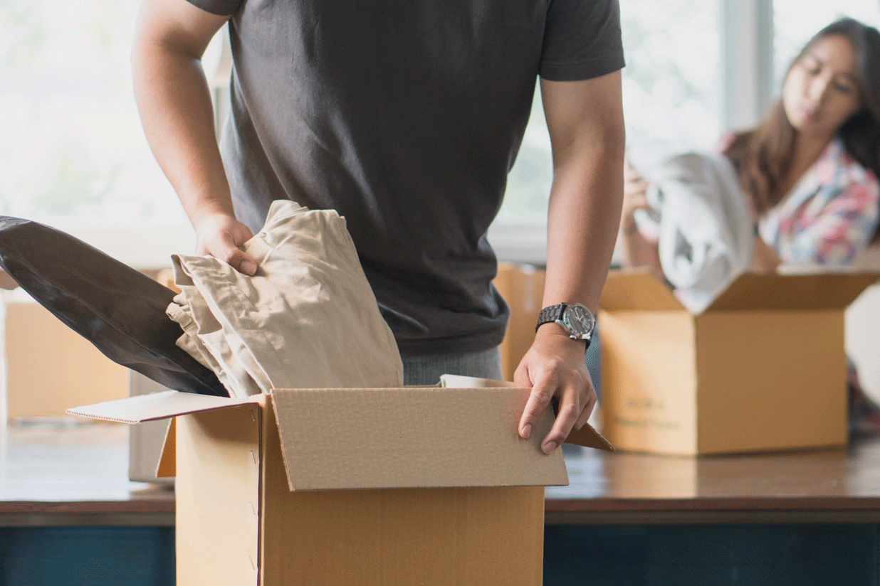 8 Clothes Packing Tips for Your Next Move