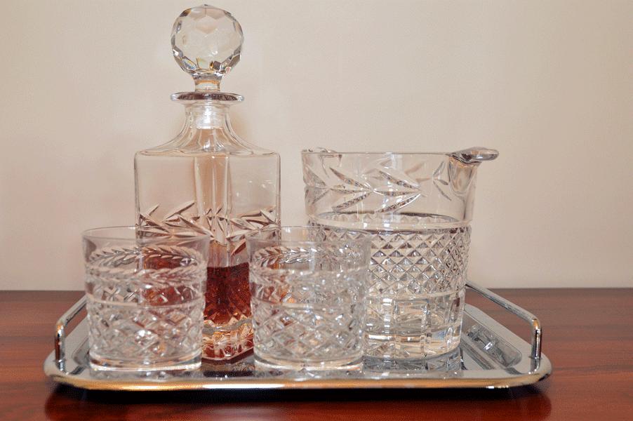 liquor tray