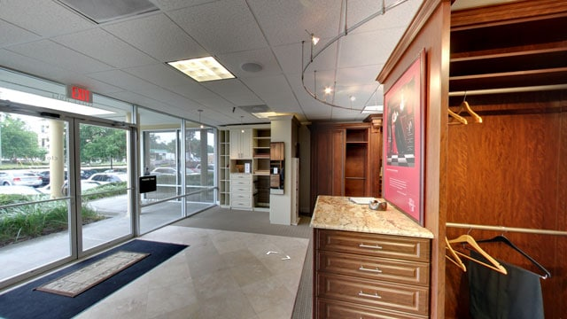 inside orlando showroom