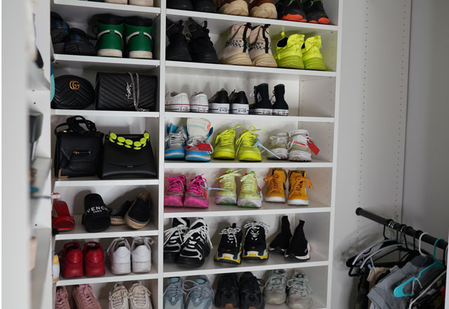 Picture of Inanna Sarkis Shoe Closet