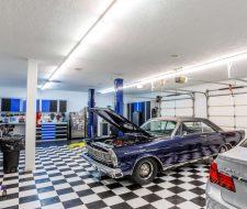 mechanic at home garage
