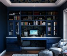 Blue Home Office ...