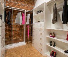 Industrial Style Custom Closet