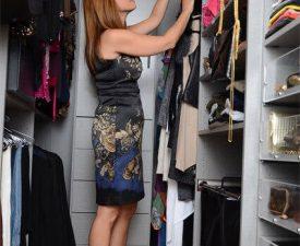 jill zarin in her closet factory closet
