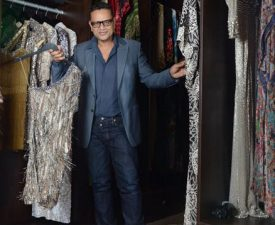 naeem khan in his custom closet