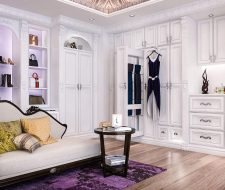 hollywood regency dressing room