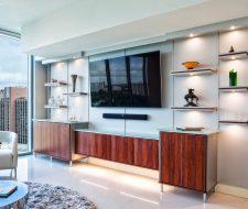 Ultra modern entertainment cabinets