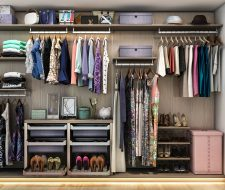 Exceptional Finesse Wardrobe Closet. Wall Unit Shelving