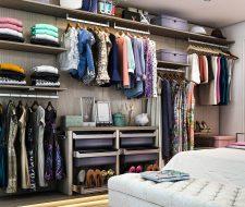 bedroom wall unit system
