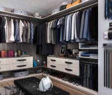finesse modern Italian closet system