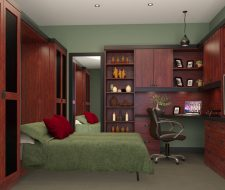 office with wall bed