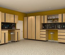 garage cabinets with extrusions