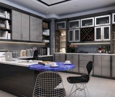 office at home with kitchenette
