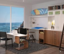 Exceptionnel Architectual Custom Office And Wall Unit