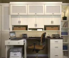 home office in a closet. Office Built In Closet Home Office_98 A