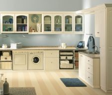 cabinetry cabinet cabinets pre assembled all white min room the home rta laundry dakota store