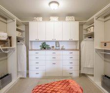 shea model home closets by closet factory