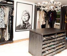 cool celebrity closet