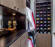 Master Closet With Tie Storage