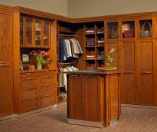 Shaker wood custom closet