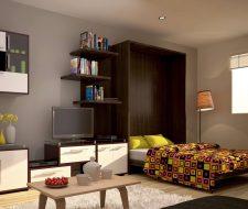 open loft space bed