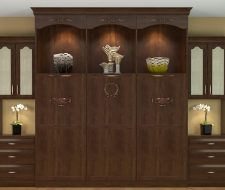 closed wall bed cabinets for living room