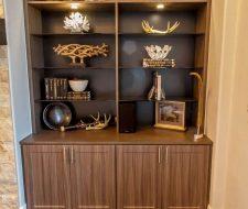 niche cabinet builtin