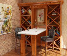 Tuscan wine tasting unit