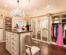 traditional style closet design