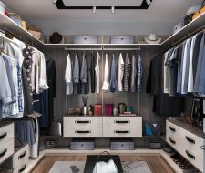 FinesseItalian Inspired Custom Closet System