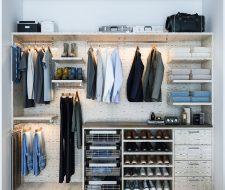 finesse modern floating closet system