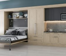 Murphy Bed Unit With Kitchen for Loft space