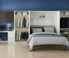 wall bed winter white