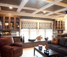 Wall Unit and Window Seat